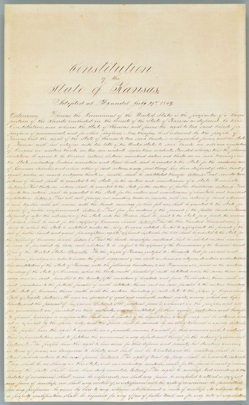 KS constitution